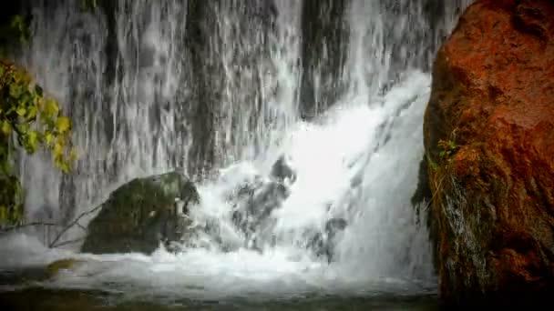 Vodopád v lese 4k