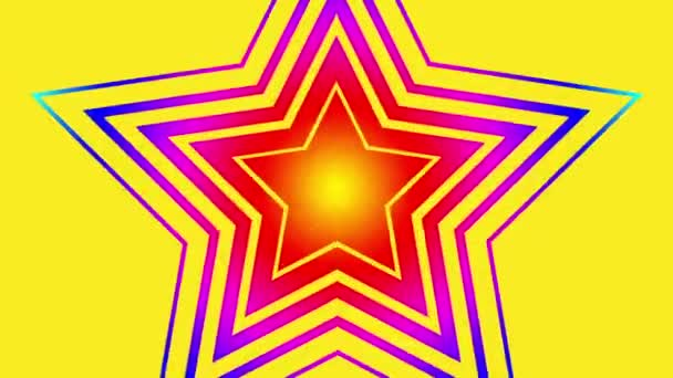 elvont csillag vektor villogó retro