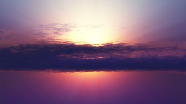 zlato západ slunce propadající zvětšení
