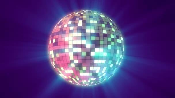 color disco ball