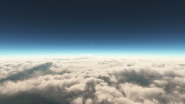 let nad západem slunce mraky 4k