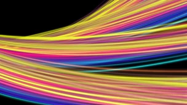 pozadí vlna abstraktní barevný pohyb