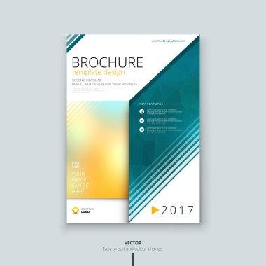 Corporate brochure or flyer design