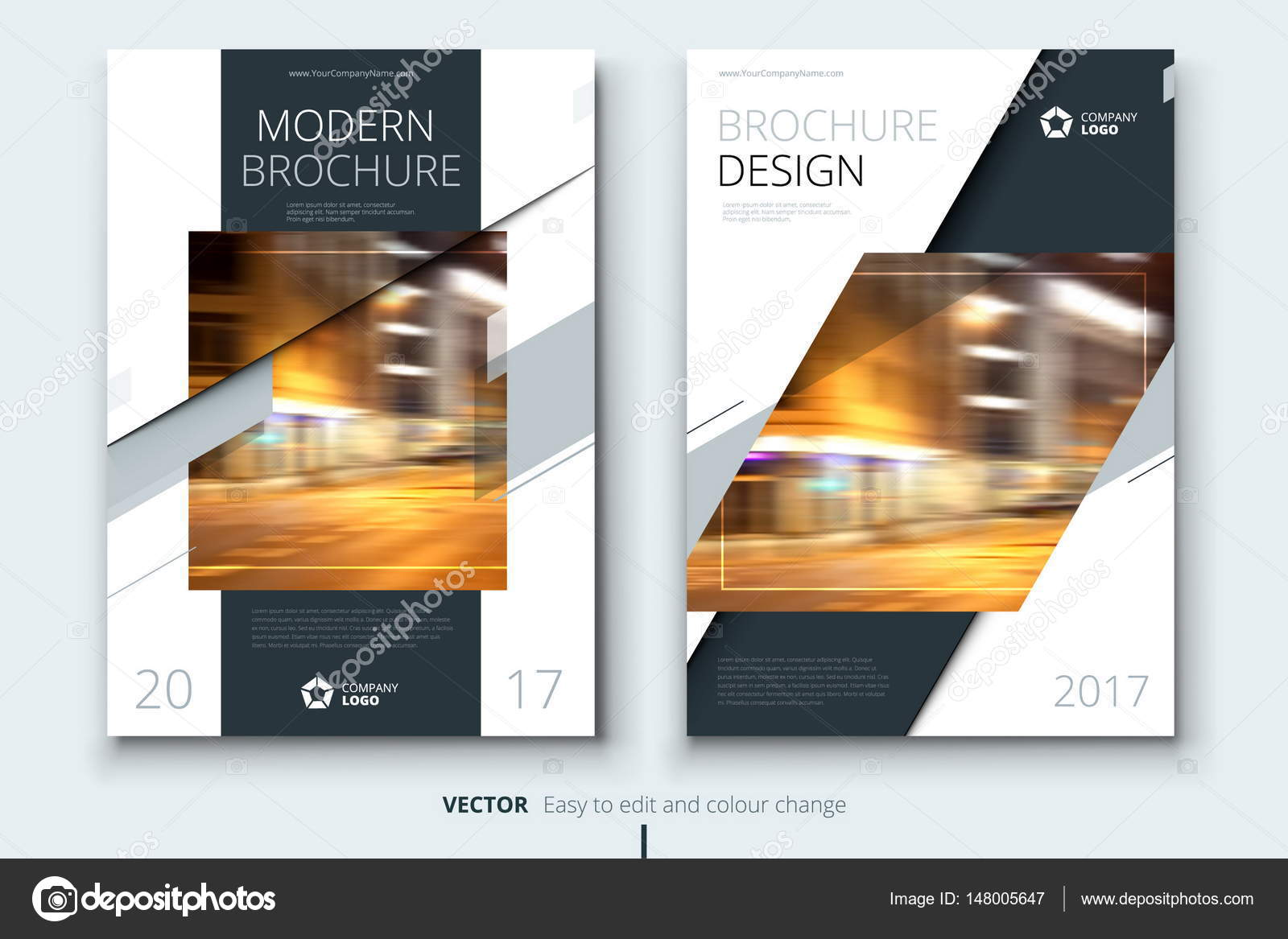 corporate business annual report cover brochure or flyer design leaflet presentation catalog with abstract geometric background modern publication