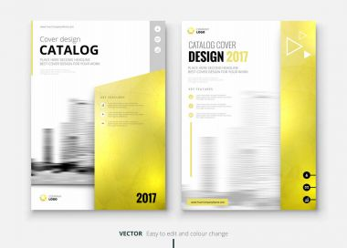 catalogs design template for corporate business