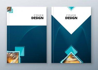 set of Brochure template layout design.