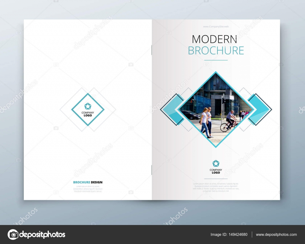 Brochure Template Layout Design Corporate Business Annual Report Catalog Magazine Or Flyer Mockup Vector By GreatBergens