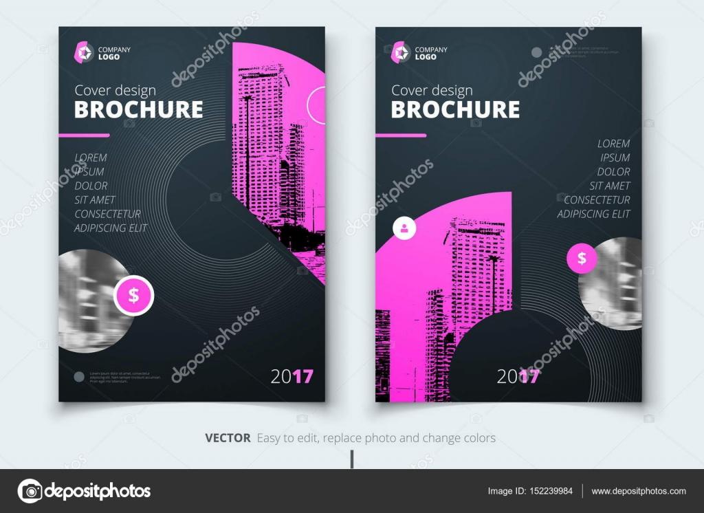 Broschüre Design Deckblatt Für Grossunternehmen Broschüre Oder Fl