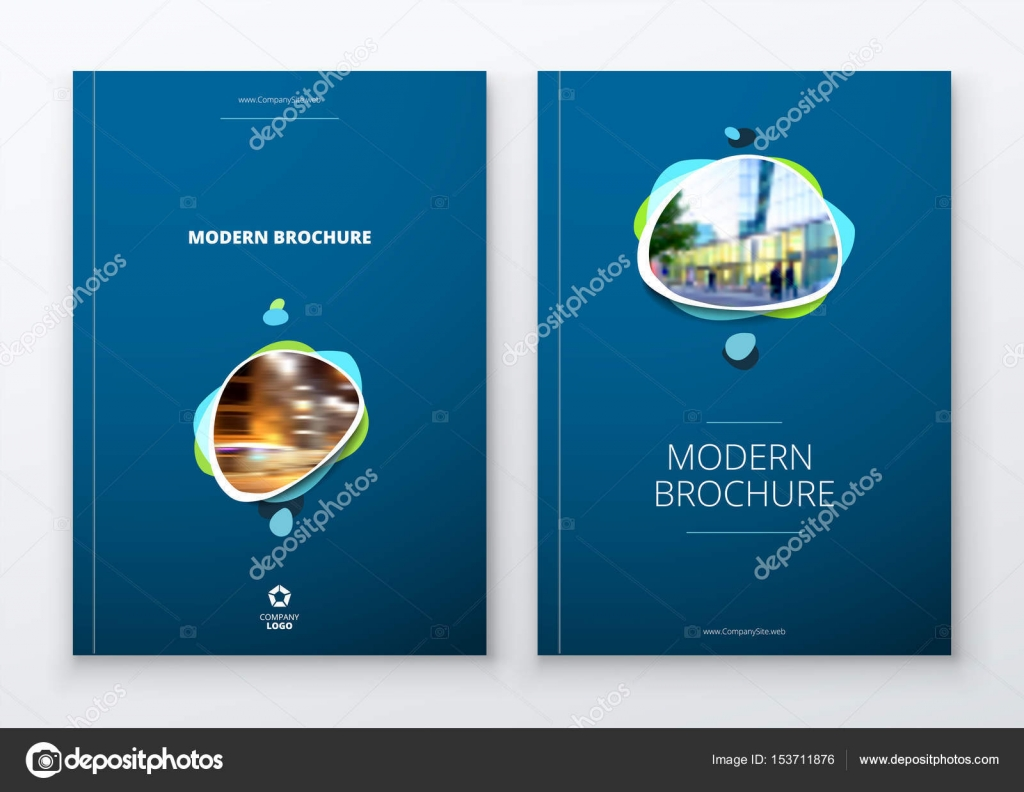 Brochure Template Layout Design Corporate Business Annual Report - Download brochure template