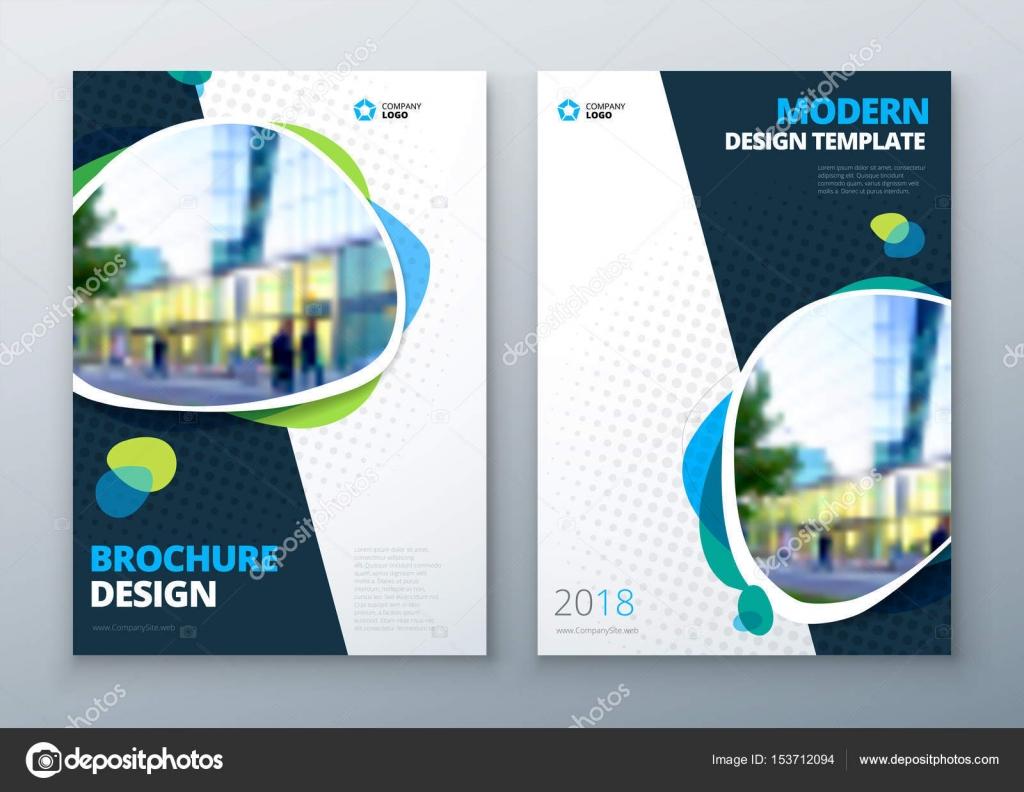 Diseño y diagramación folleto plantilla. Informe anual de ...