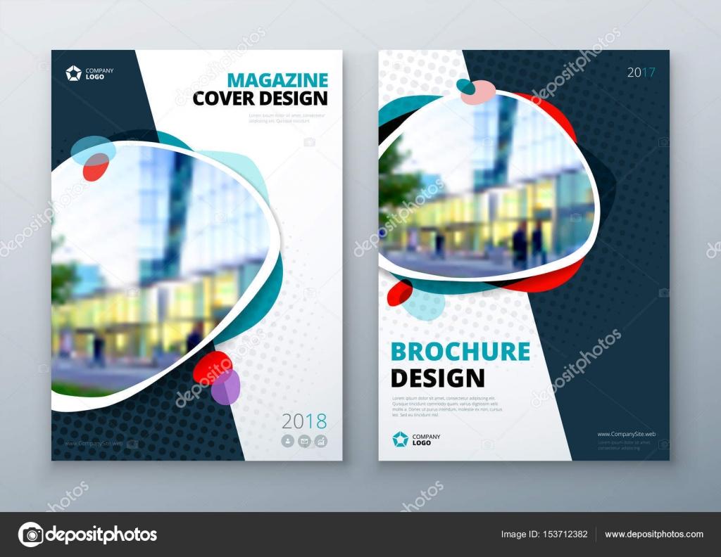 c013a4ab39 Diseño y diagramación folleto plantilla. Informe anual de ...