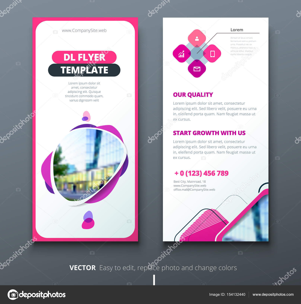 Dl Flyer Design Stock Vector Greatbergens 154132440