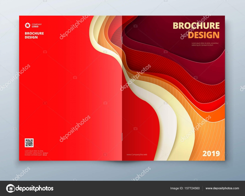 catalog cover design template stock vector greatbergens 157724560