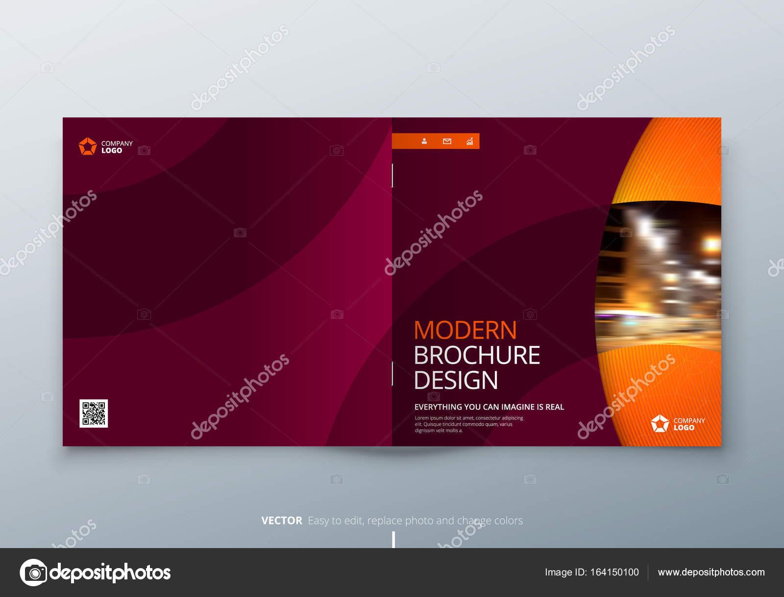 Piazza brochure design rosso arancio grandi aziende for Aziende design