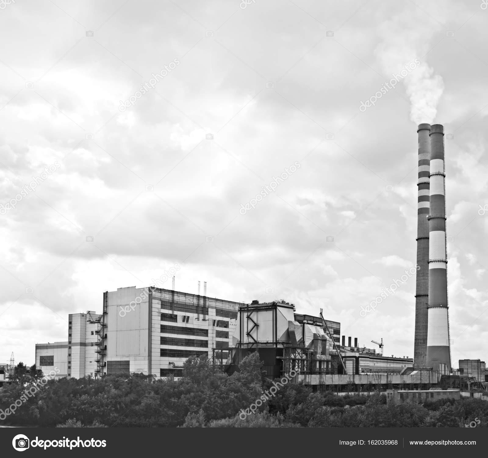 Centrale Hydroelectrique Dans La Ville De Kemerovo Siberie En