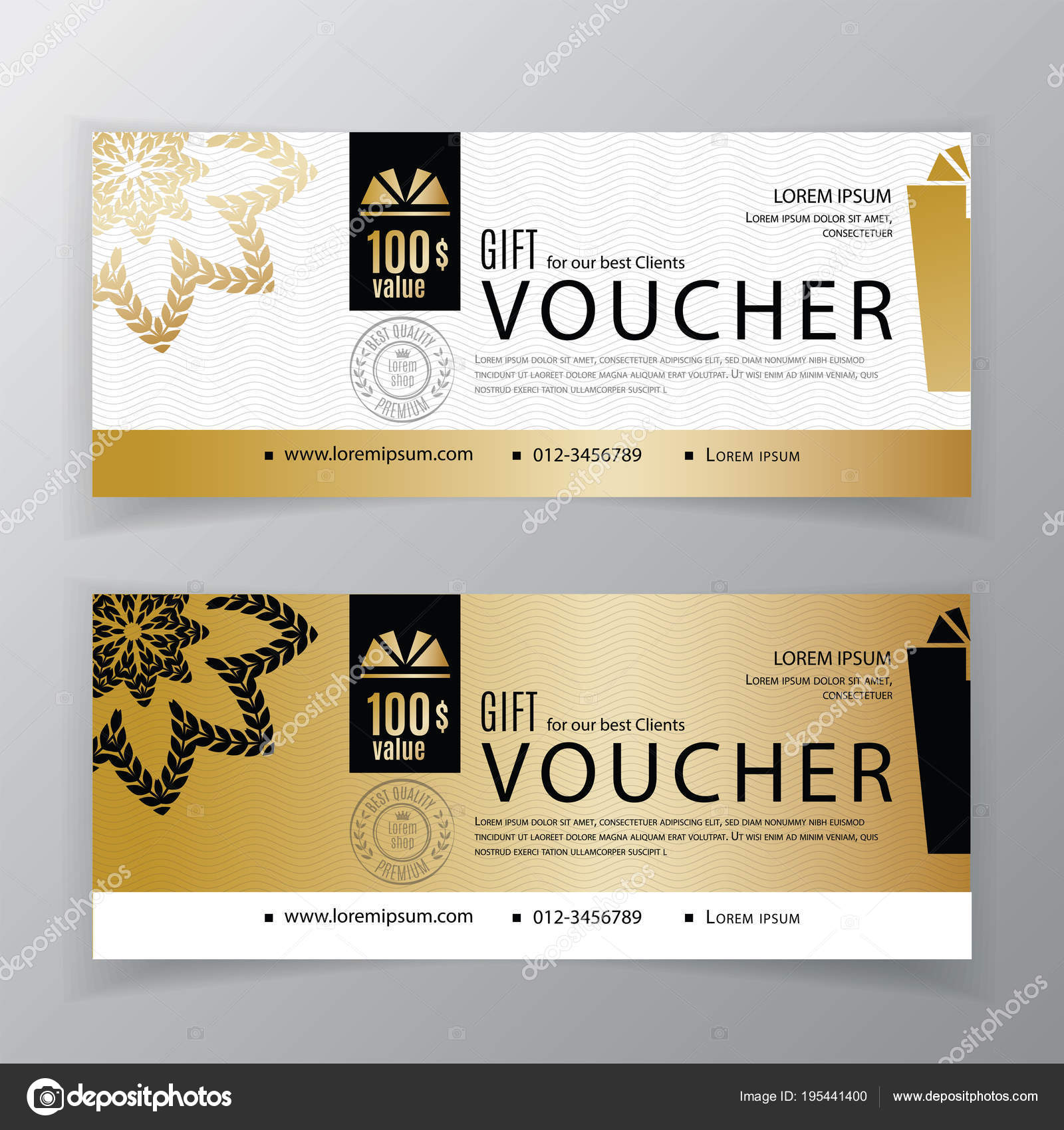 Vector gift voucher template universal flyer for business clean vector gift voucher template universal flyer for business clean vector design black gold accmission Image collections