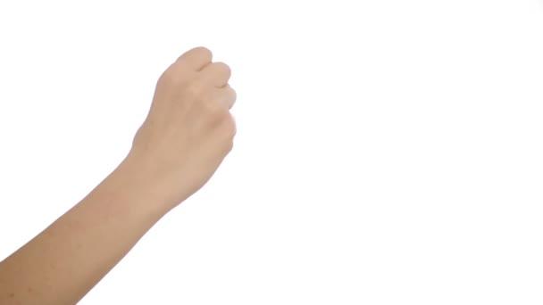 účet až třemi prsty