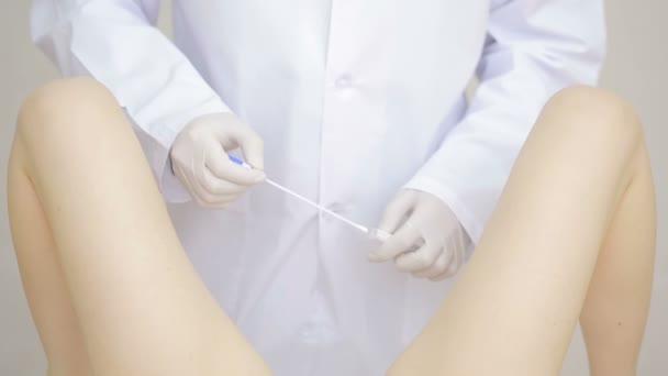 video examen gynecologique