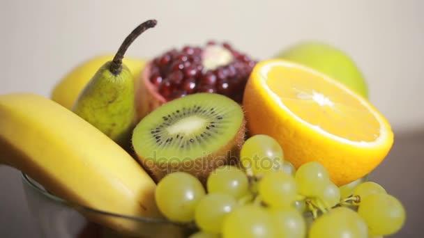 közeli kép: gyümölcs, koncepció, az egészséges életmód, diéta.