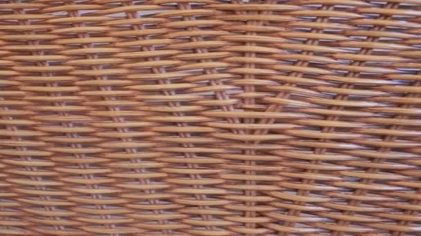 Dekoratív fonott bútor rattan Vértes, a textúra, a háttér