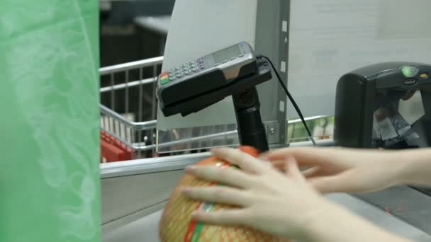 Scanning products in a store