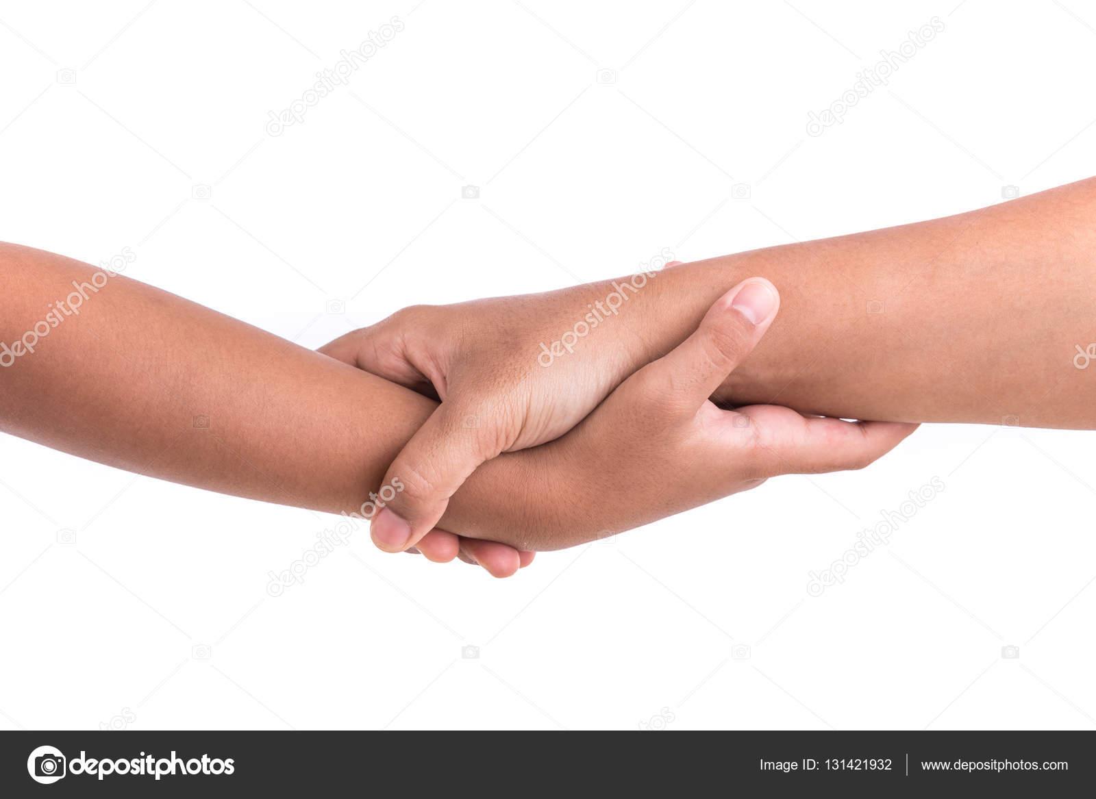 2 handen in elkaar