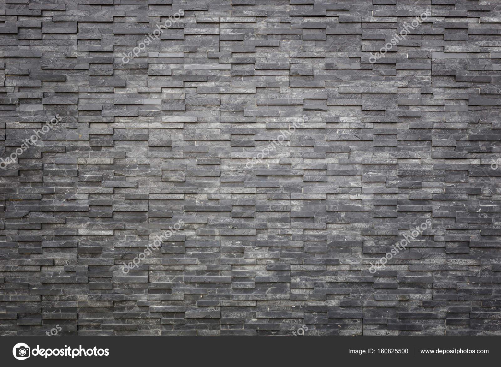 Motif De La Texture De Mur Du0027ardoise Noire Et Lu0027arrière Plan. Intérieur Ou  Décoration Extérieure U2014 Image De PhanuwatNandee