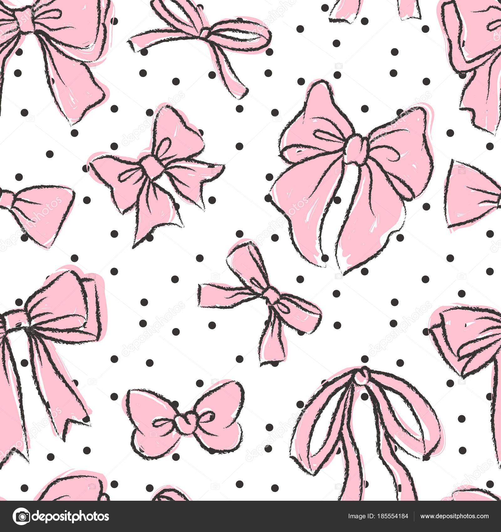 Lindo de patrones sin fisuras con hermosa mano dibuja arcos — Vector ...