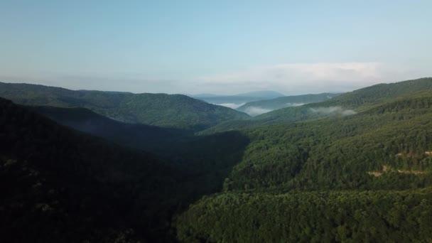 légi táj kilátás kaukázusi hegy