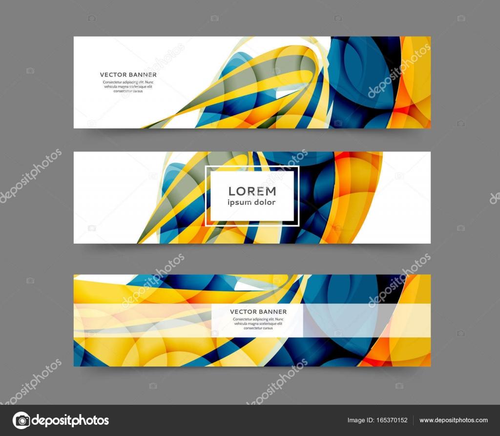 Webschlagzeilenschablonen — Stockvektor © Maria_lh #165370152