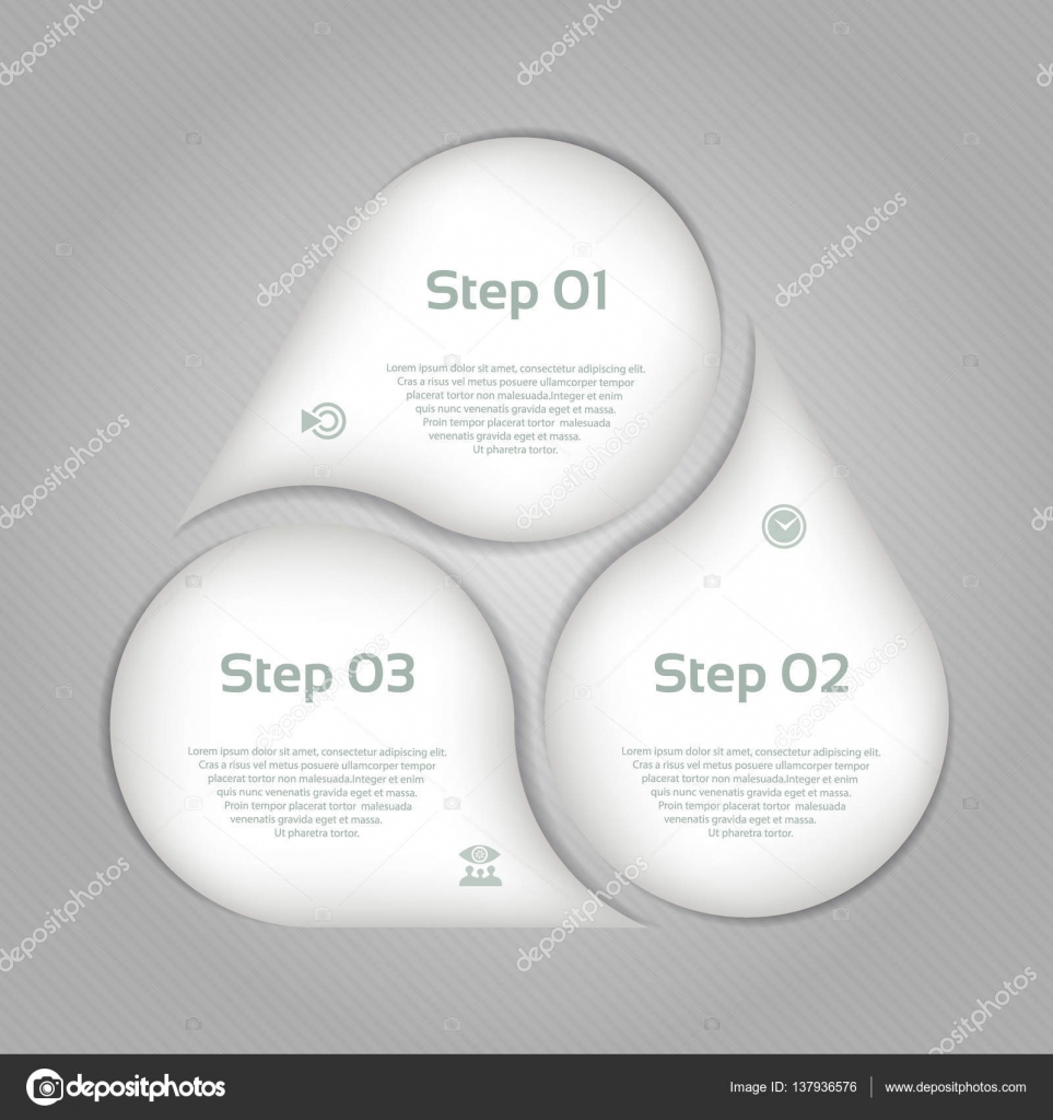Vector circle infographic. Template for cycle diagram, graph ...