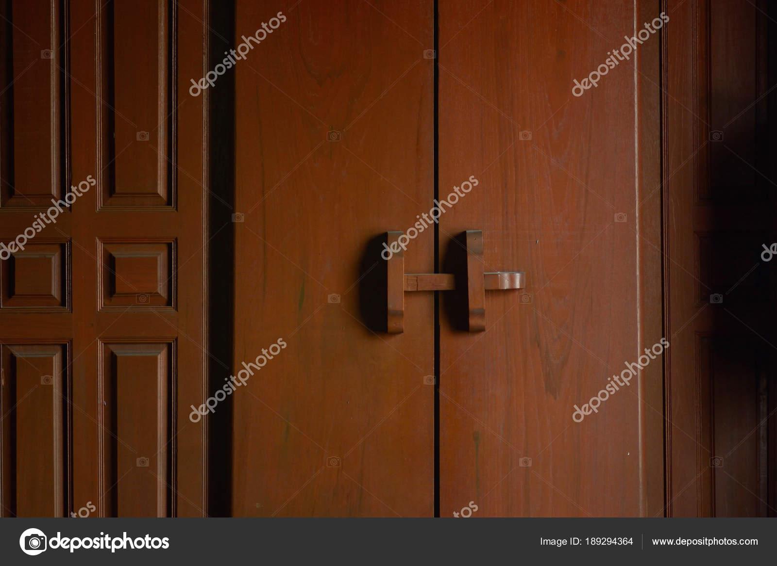 Beautiful Ancient Teak Wood Door In Thai Style U2014 Photo By Art8MB