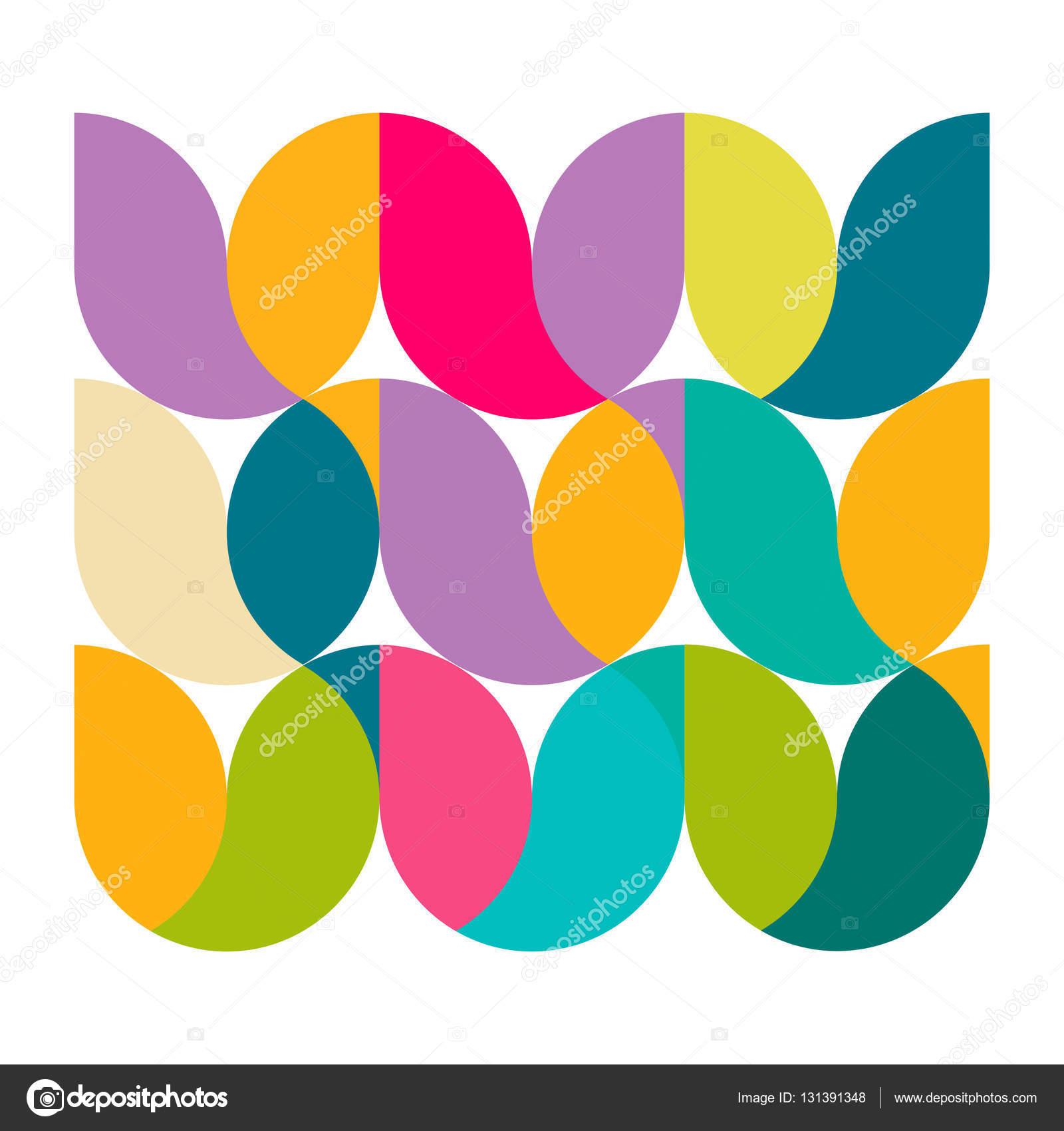 Minimale Geometrische Muster Auf Weiß Grossunternehmen Identity