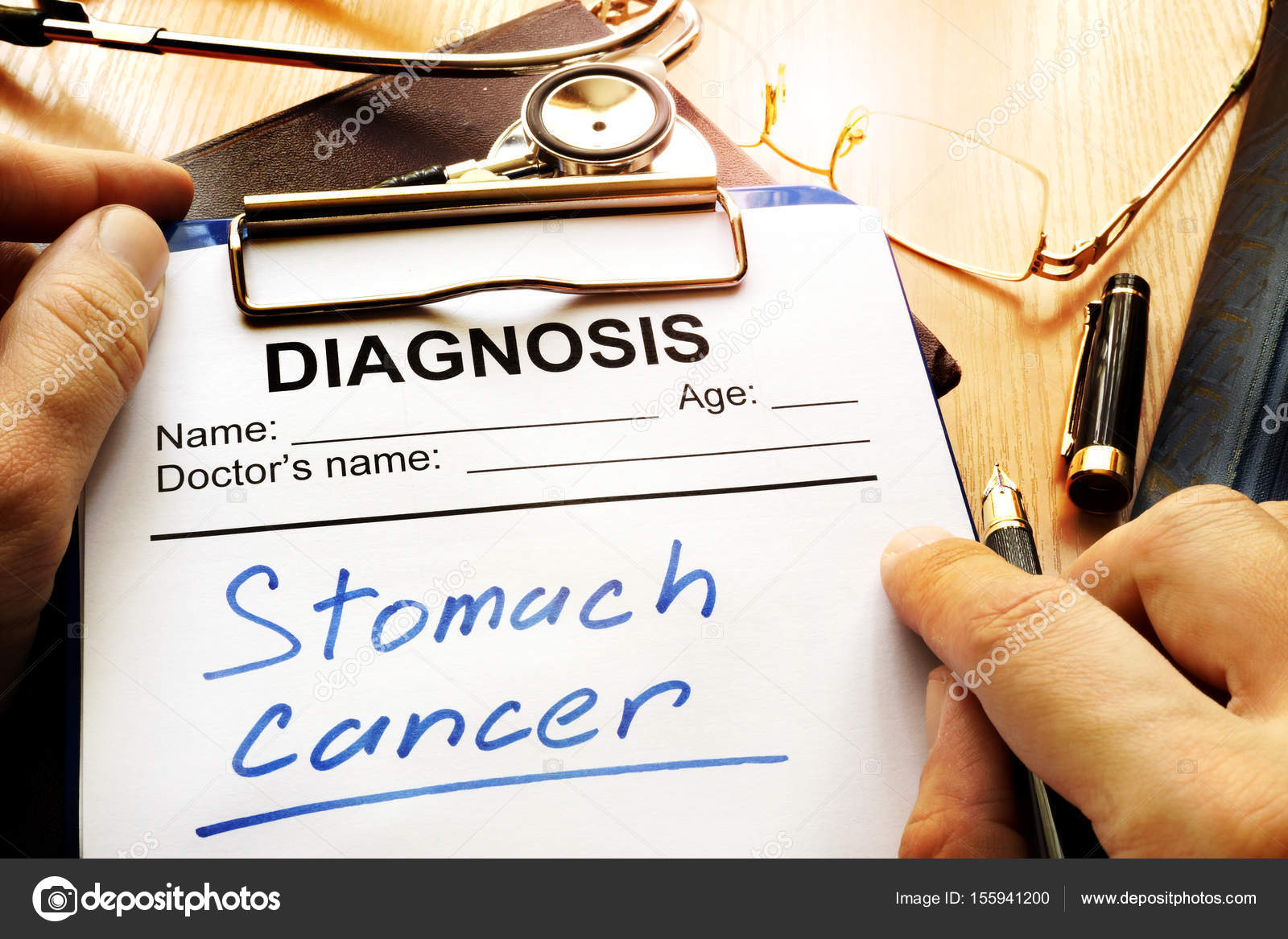 cancer estomac diagnostic