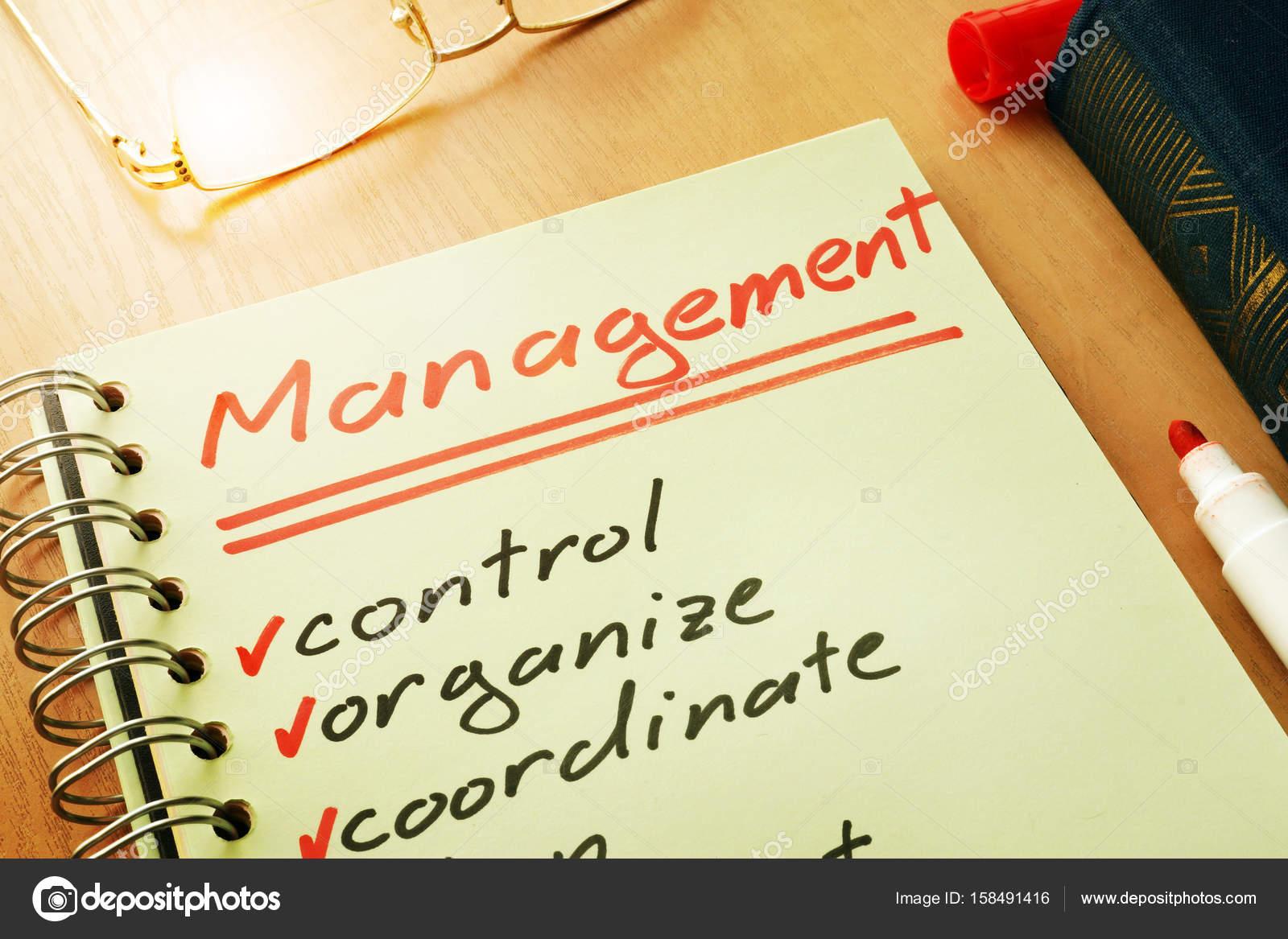 Wort-Management mit Listensteuerelement, organisieren, koordinieren ...
