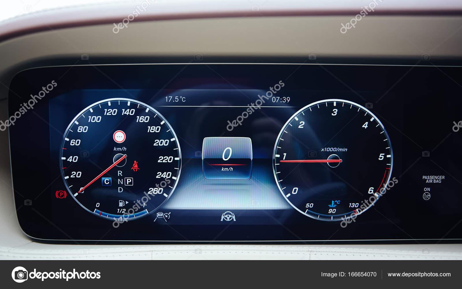 Luxury Car Dashboard Stock Photo C Sarymsakov 166654070