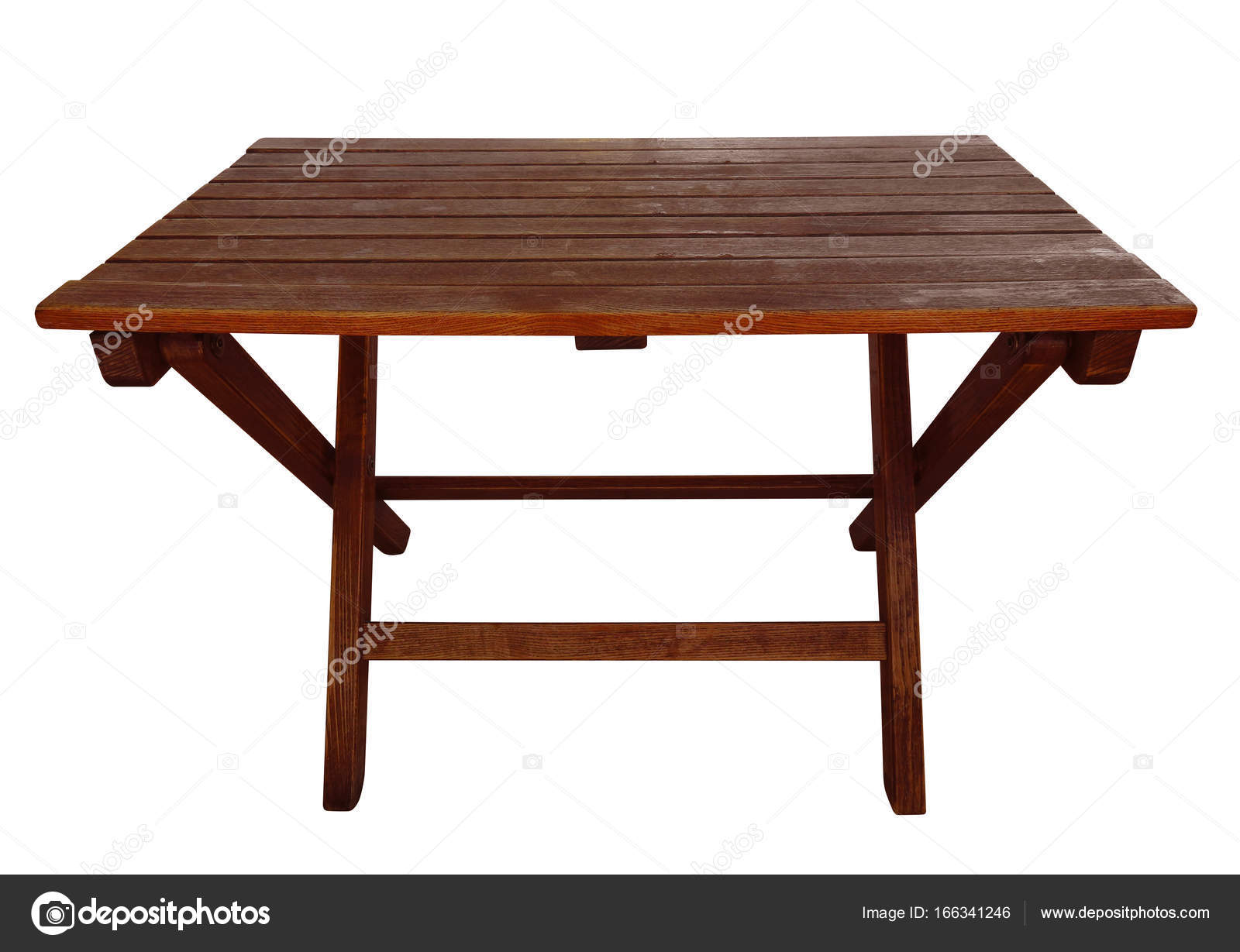 Tavolo Pieghevole Bianco : Tavolo pieghevole in legno isolato u foto stock venakr