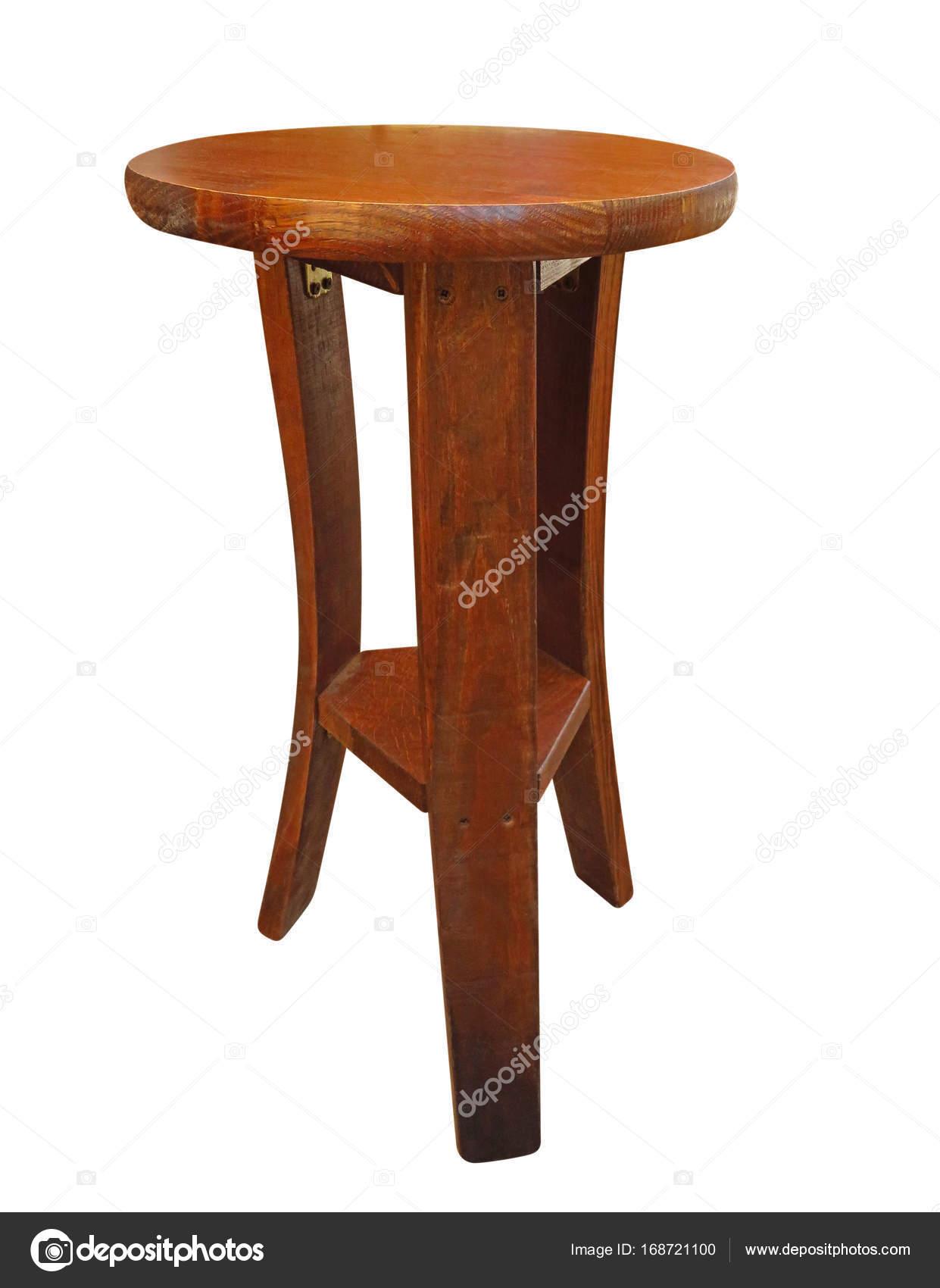 Runde Holzsitz — Stockfoto © venakr #168721100