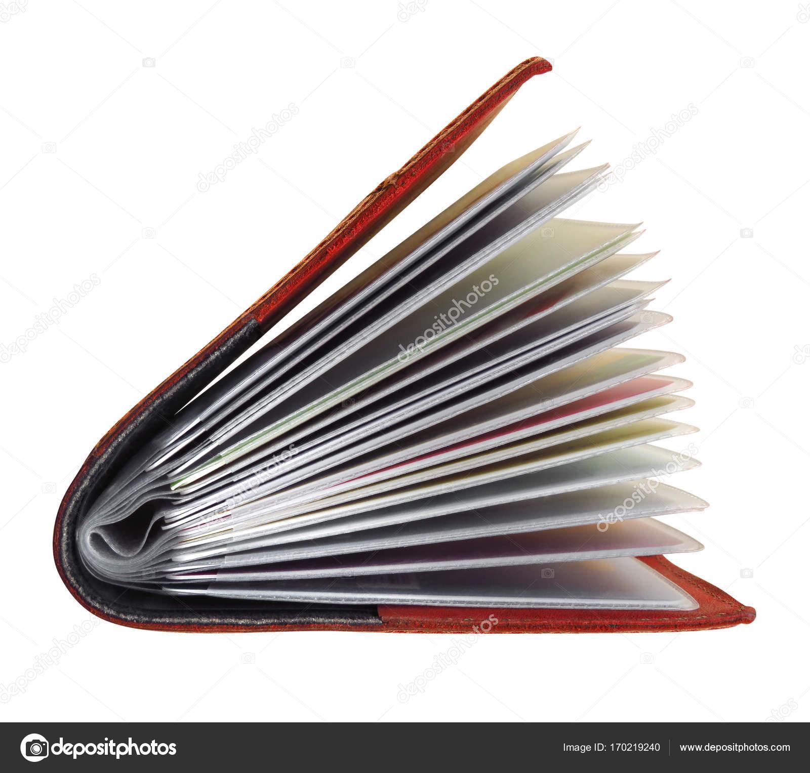 Visitenkarten Etui Aus Leder Stockfoto Venakr 170219240