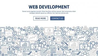 Web Development Banner Design