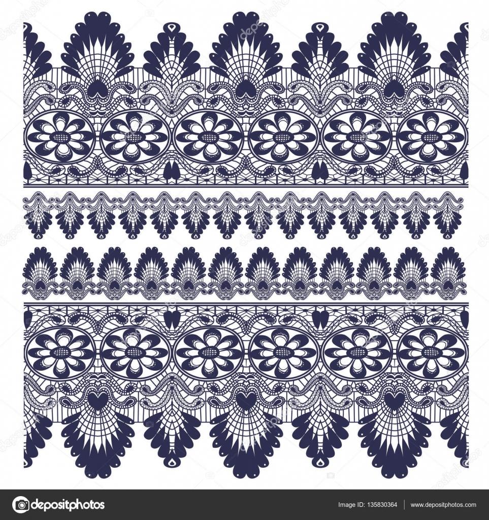Spitze Kante Muster — Stockvektor © AVPanov #135830364