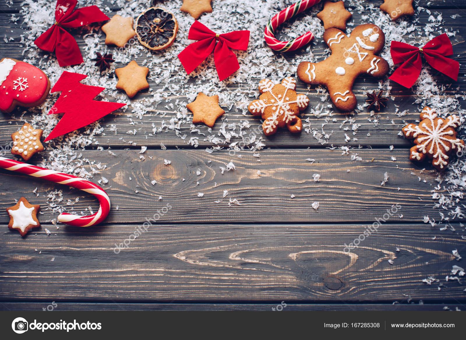 Weihnachten Hintergrund Rahmen. Urlaubsstimmung. Traditionelle ...