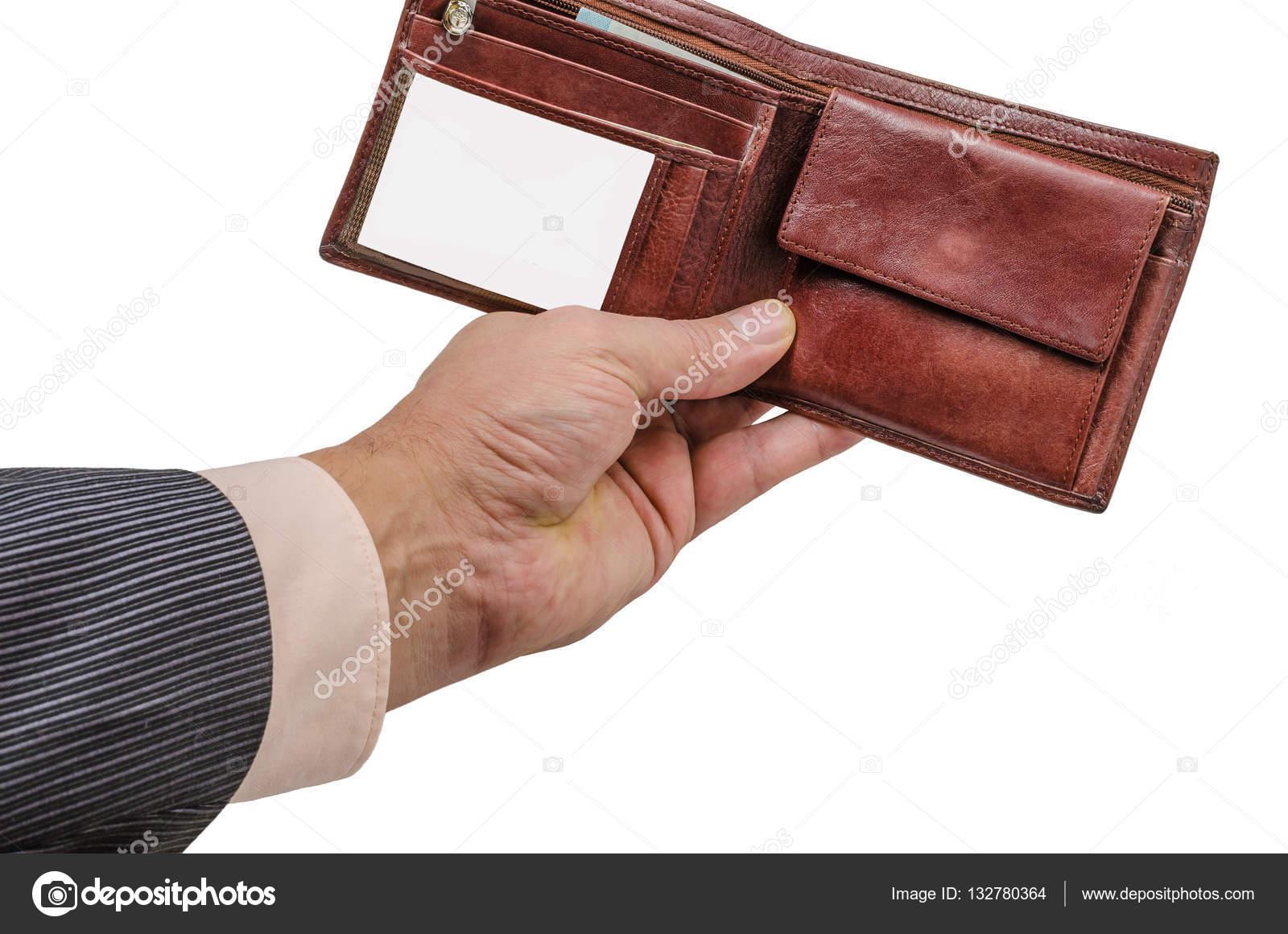 A basso prezzo miglior grossista miglior servizio Mano, portafoglio, affari, cuoio, soldi, polso, Compro ...