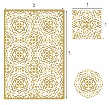 Vector Laser cut panel, the seamless pattern for decorative panel. Image suitable for engraving, printing, plotter cutting, laser cutting paper, wood, metal, stencil manufacturing. Stock vector. stock vector