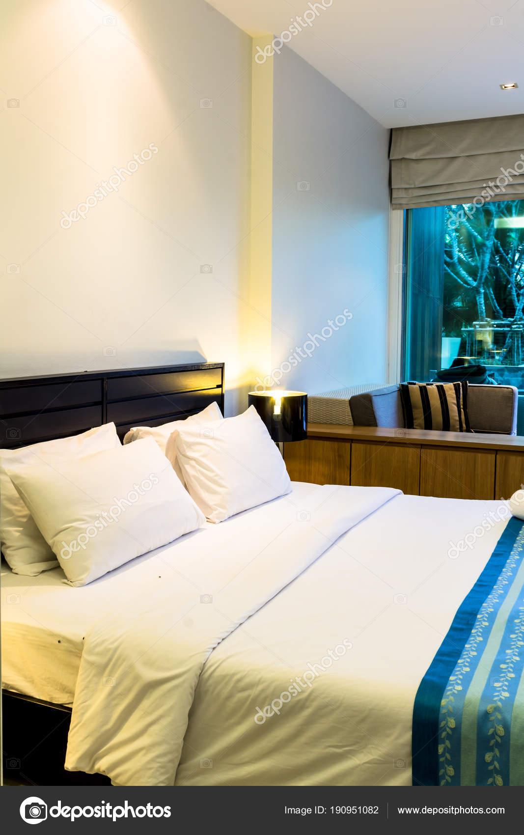 Moderne Schlafzimmer Dekoration Gemütlichen Zimmer Mit ...