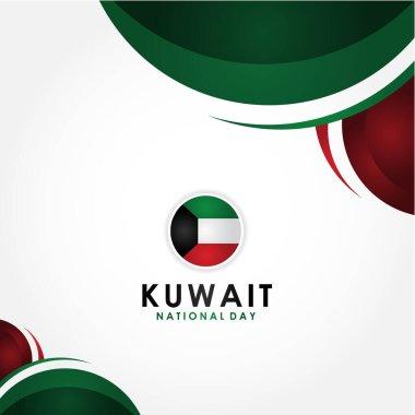 """Картина, постер, плакат, фотообои """"векторный дизайн национального дня кувейта для баннера или фона венеция"""", артикул 339635430"""