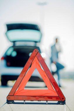 Car problems,close up