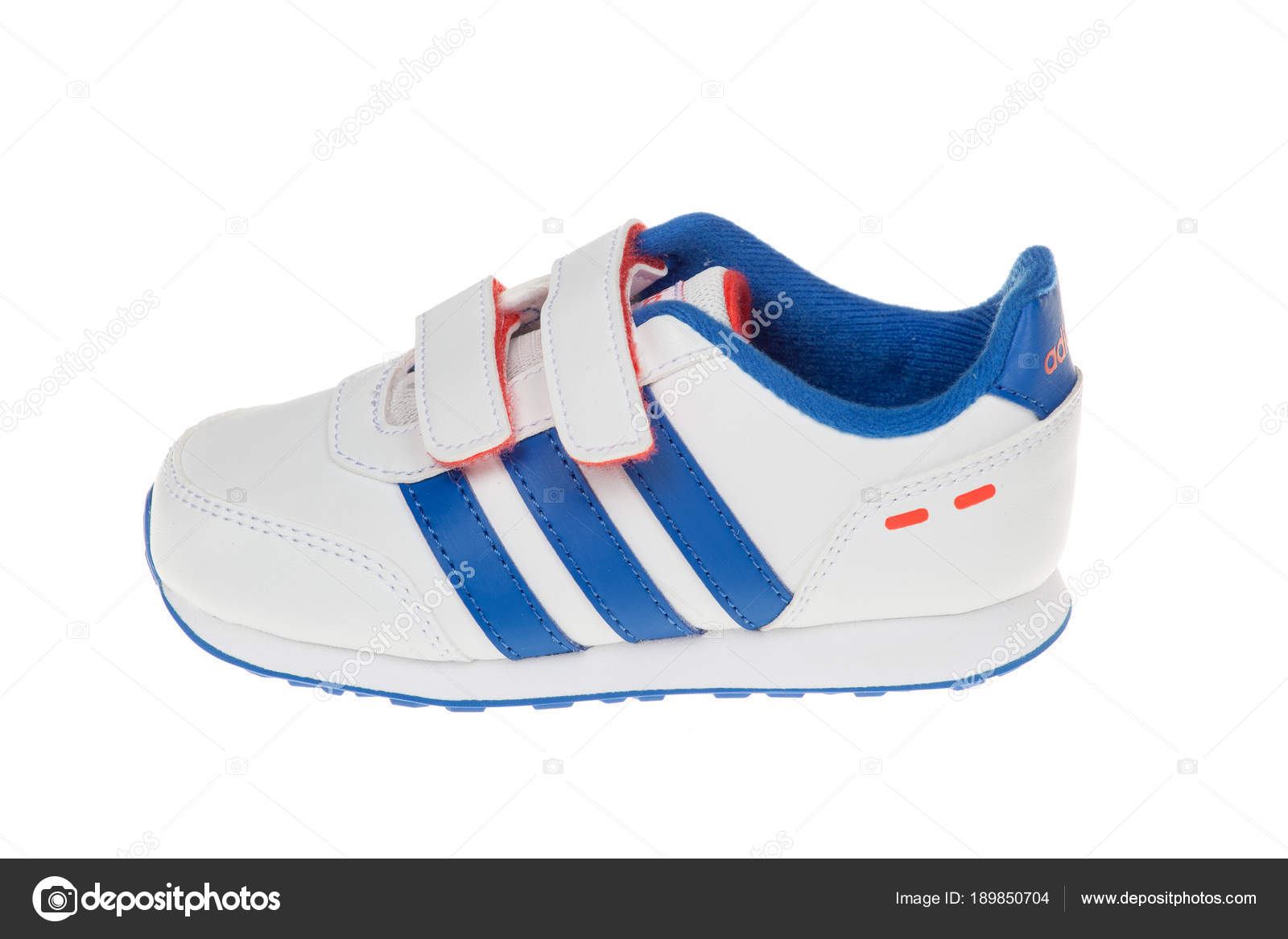 SWITCH Isolated 13 children shoe ADIDAS VS Varna MAY 2016 Bulgaria TzOwzYq7