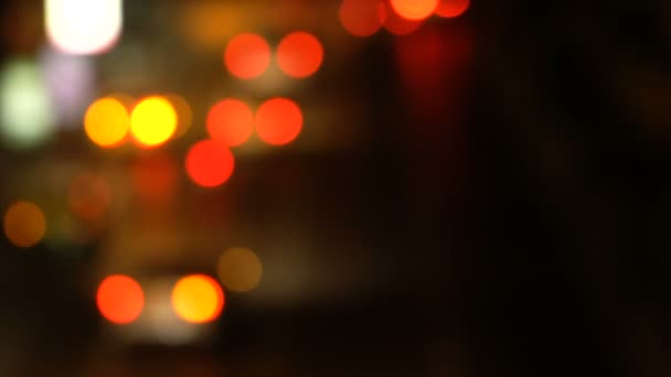 Rozostřeného noční doprava