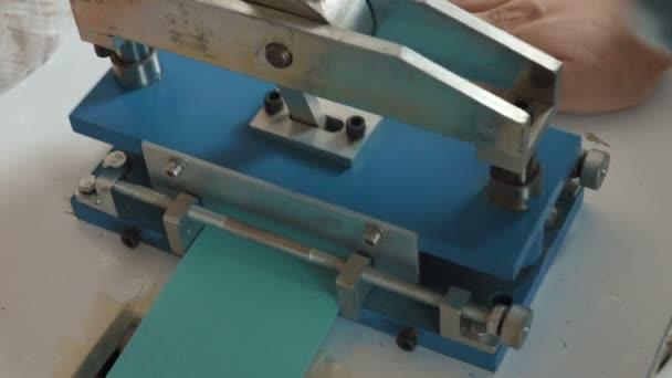 Produzione Tende A Rullo.Produzione Di Tende A Rullo Video Stock C Infocusvideo 152553660